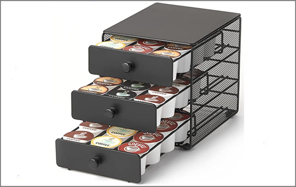 K-Cup coffee storage drawer