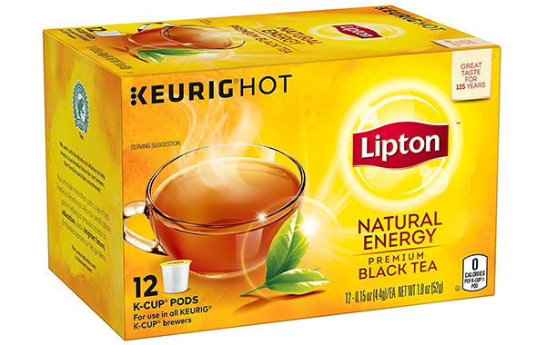Lipton K-Cups Natural Energy