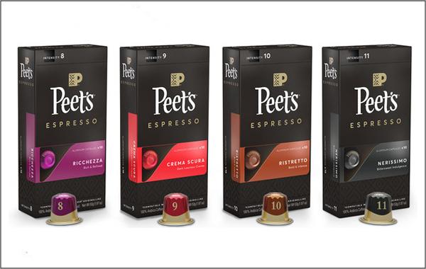 Peet's Coffee releases Nespresso
