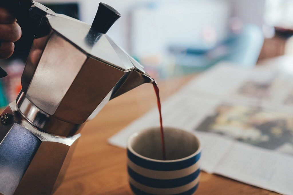 Moka Pot coffee is just one of the many types of coffee drinks