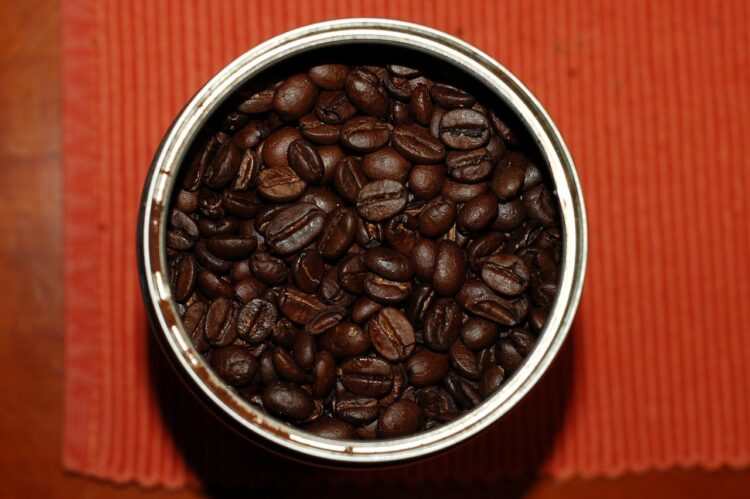 can of coffee beans