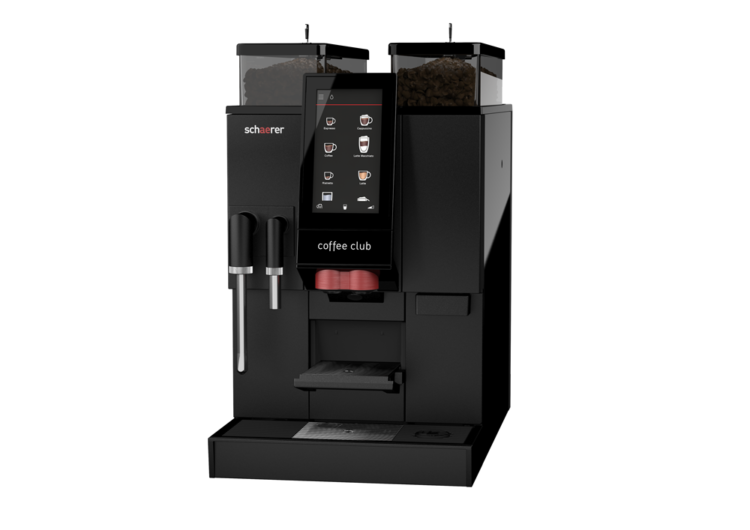 shaerer coffee club machine