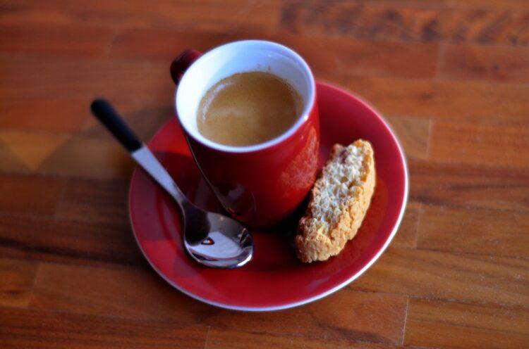 espresso shot with crema