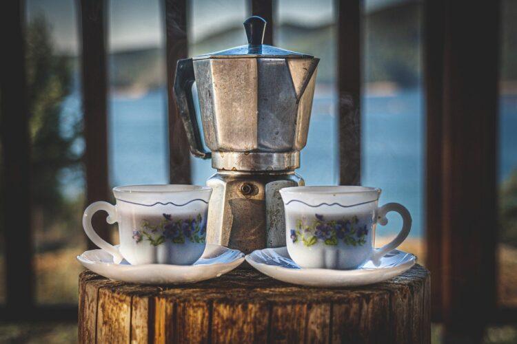 moka pot to make coffee with