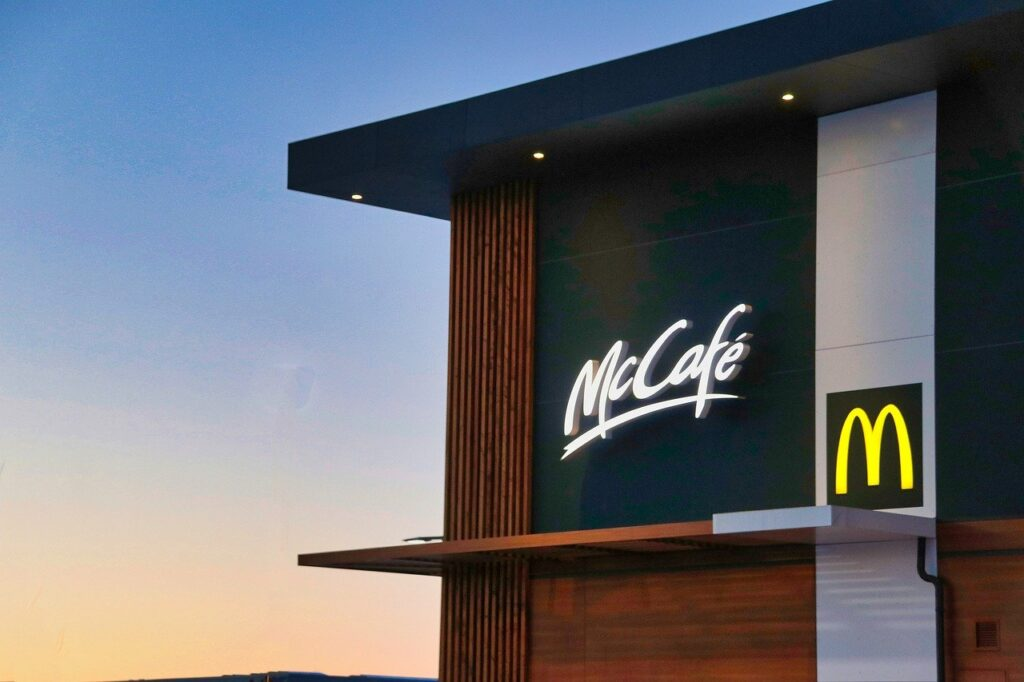 mcdonalds coffee bar