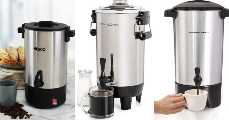 small coffee urns